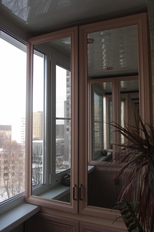 Мебель на заказ для балкона - шкафынариум.
